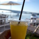 リゾラ テラス 天草 - 「島のジュース」(550円)。熊本産デコポン100%♪ めちゃ美味しかった!