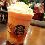 スターバックスコーヒー - 残業抜け出してチームのみんなで来たよぉ(•͈⌔•͈⑅)♡ 期間限定ピーチフラペチーノ