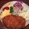 レストラン アポロ - 料理写真:メンチカツ&オムレツ