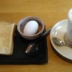 甘味喫茶 おかげ庵 - トーストセット