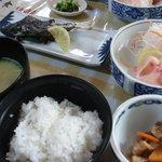 5703771 - 土・日祝日限定「清流川魚定食」