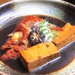 童馬水産 - 料理写真:伊豆産金目鯛の煮付け