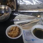 お百姓市場 - 松茸ご飯、味噌汁