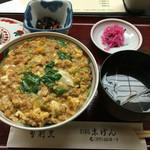 末げん - かま定食(1200円)
