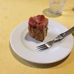 ヴァンショー - デザートのケーキ