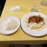 ヴァンショー - 奥丹波・若鶏のカツレツ:自家製タルタルソース、レモン添え