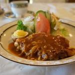 レストラン冨士屋 - 鶏肉のピカタ