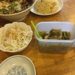 龍鳳苑 - サラダ    ザーサイ