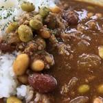 N3331 - 「お豆と挽肉の和酒カレー」920円