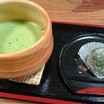 たかまつ - 料理写真:抹茶セット♪