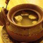魚の蔵 - 松茸の土瓶蒸し