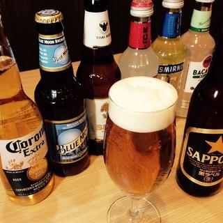 ボトルビール全品¥500!