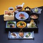 割烹まつ井 - 料理写真:ミニ会席(藤)3,500円