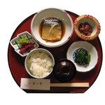 割烹まつ井 - お魚の御膳 (鯖の味噌煮)800円