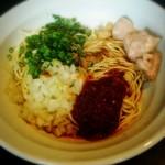 丿貫 - 四川式カレーの和え玉(300円)※麺類とセットのみ