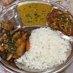 インド・パキスタン料理 ホット・スプーン - やみターリーセット2016