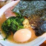 つばさ家 - ('10/11)ラーメン+味玉