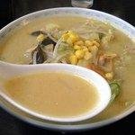 札幌ラーメン どさん子 - こくまろスープのちゃんぽん