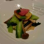 Shisentoufahansou - キノコと青菜の炒め物