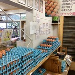 らんパーク - 卵は量り売り