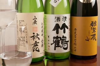 ビストロガニオン - グラスで楽しめる日本酒