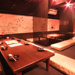 おしゃれな空間で、女子会・宴会・会食など◎個室もございます♪