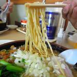 大むら食堂 - 中太麺