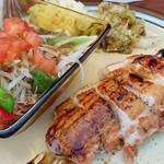 ソシエテ - ランチ   鶏肉のソテー バルサミコソース