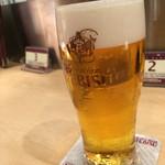 エビスバー アゼリア店 - エビスビールが525円+税