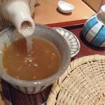 57063850 - 蕎麦湯は自然体 201610
