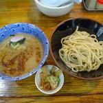 三竹寿 - 濃厚つけめん(並)+メンマ