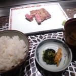 57068509 - 肉と飯