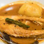Puja - 2016.10 Maacher Jhol(1,100円)魚カレー