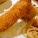 ポールスター - 海老フライと蟹クリームコロッケ