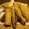 トロワ - 料理写真:オクラとズッキーニのフリット(750円)
