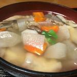 姫本 - 料理写真:161006 だんご汁