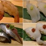流れ鮨 三代目 おとわ - 2016年3月 美味しいお寿司でした(^^♪