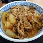 吉野家 - 料理写真:2016年9月25日(日) 牛丼並盛(つゆだく)380円