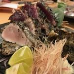 57081922 - 藁焼き三種盛り(かつお・さわら・穴子)