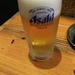 57082495 - 生ビール(中) 500円♪