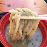 麺堂 稲葉 - つけめんウルトラソウル2016 麺リフト