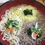 のりちゃん - 3色麺アップ