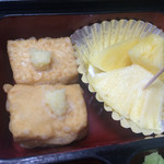 まるこう - 揚げ出し豆腐・パイナップル
