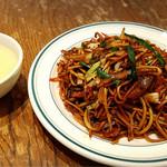 CHINESE 青菜 - 料理写真:☆上海焼きそば☆スープ付き