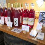 千歳ワイナリー - ドリンク写真:ハスカップワイン