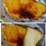 57091150 - ◆チーズケーキクーヘン(194円:内税)・・シチリア産レモンとチーズをめ使用した「おやつパン」。                       甘いパン