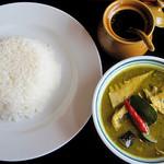 ナッサコン クルアタイ - 料理写真:グリーンカレー