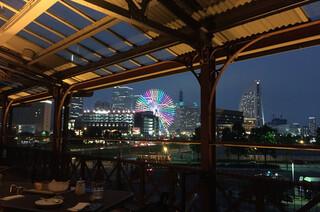 chano-ma 横浜  - テラス席から見える夜景