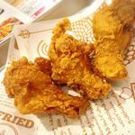 COCO Chiken & Ribs - 小もも肉フライドチキン プレーン