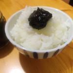 原木しいたけ野呂食品 - ご飯にのせて、、